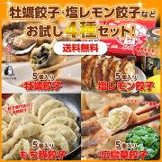 広島牡蠣・レモン・もち豚・広島菜が入ったご当地餃子セット