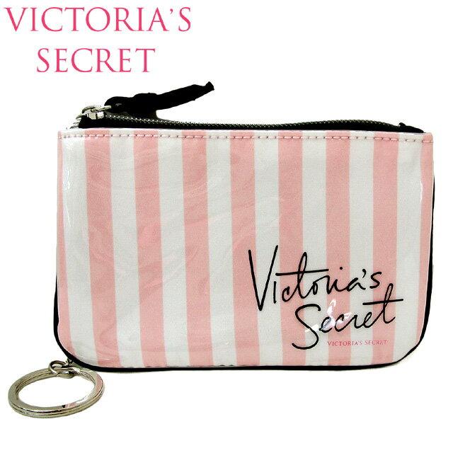 【送料無料】VICTORIA'S SECRET ヴィクトリアシークレット ビクシー ポーチ 小物入れ コインケース チェーン付