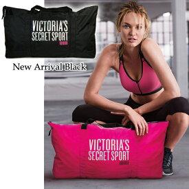 VICTORIA'S SECRET SPORTS ヴィクトリアシークレット ビクシー ビクトリア スポーツバッグ フィットネスバッグ ナイロン素材 大容量 大きめ ピンク ブラック新入荷