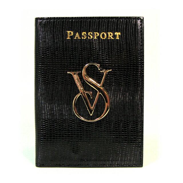 【送料無料】VICTORIA'S SECRET ヴィクトリアシークレット ビクシー パスポートケース カードケース パスケース ブラック
