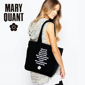 【送料無料】マリークワント MARY QUANT バッグ トートバッグ レディース キャンバス トートバッグ ブラック