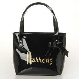 【送料無料】HARRODS ハロッズ 正規品 トートバッグ バック ハンドバッグ Mサイズ ブラック
