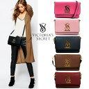 【送料無料】VICTORIA'S SECRET ヴィクトリアシークレット ビクシー Shoulder Bag ショルダーバッグ クラッチ レザー …