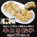 牛とろ餃子★10個入り【加熱用】 ■北海道産牛■ 【楽ギフ_のし】