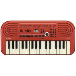 CASIO カシオ 32ミニ鍵盤 電子キーボード UK-01 ミニキーボード 赤 レッド