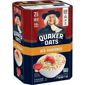 クエーカー オールドファッションオートミール 2.26kg x 2袋 4.52kg QUAKER Old Fashioned Oats oatmeal えん麦 シリアル グラノーラ コストコ COSTCO 父の日