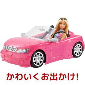 バービーとおでかけ! かわいいピンクのクルマ ドール1体付き バービー Barbie FPR57 車 バービー 人形 シリーズ おしゃれ ごっこ遊び ままごと ピンク マテル MATTEL 誕生日 プレゼント 贈り物 コストコ COSTCO