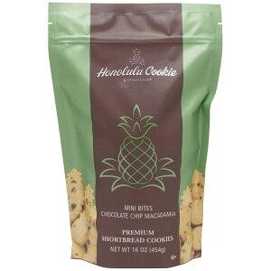 【在庫限り・送料無料】 ホノルルクッキー ミニバイツ チョコチップ マカダミアクッキー 454g チョコチップクッキー ハワイアンクッキー ホノルルクッキーカンパニー Honolulu Cookie MINI BITES CHO