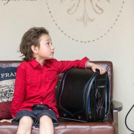 ランドセル 男の子 フィットちゃん ラヴニール ドラゴンモデル タフロック A4フラットファイル ドラゴン刺繍 キューブ型 6年間保証 日本製
