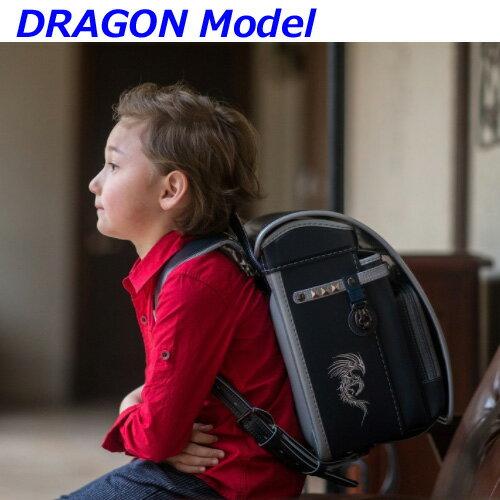 ランドセル フィットちゃん 男の子 ラヴニール ドラゴンモデル タフロック A4フラットファイル ドラゴン刺繍 キューブ型 6年間保証 日本製