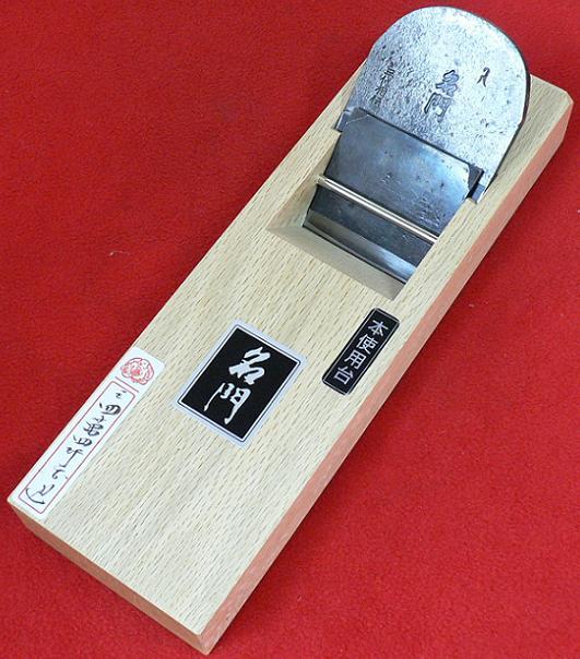 ■常三郎 播州三木鉋名門 特別刃物鍛造鋼 白樫 包堀寸八 70mm 又は 寸六 65mm