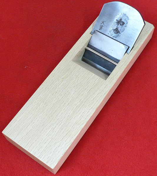 ■常三郎 播州三木鉋和合 東郷犬首鋼白樫 包堀寸八 70mm 又は 寸六 65mm