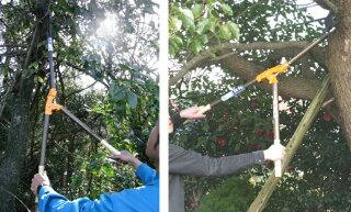■ニシガキ太丸2000N-155高枝切りバサミ剪定鋏はさみ果樹