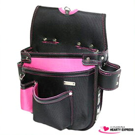 ■KH 基陽 釘袋 ネイルバッグ さくら ピンク GE1509P 電工 大工 職人 鳶職 配管工 腰袋 桜 サクラ SAKURA