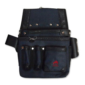 ■KH 基陽 HUMHEM 24206型 バッグ ネイビー HM24206-N 腰袋 釘袋 青 フムヘム 工具 小型腰袋 大工道具