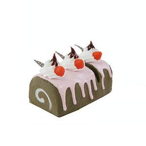 ■ロールケーキ研ぎ器 チョコ QY-1011 シャープナー 包丁研ぎ キッチン用具 ハロウィン 母の日 誕生日 贈り物 プレゼント かわいい