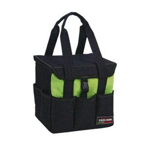 ■リングスター ツールバッグテイスト TBT-2700 グリーン 収納 工具入れ 道具箱 工具バッグ 鞄 道具入れ