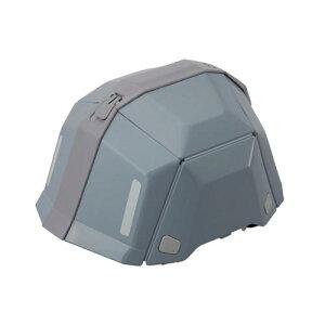 ■トーヨー 防災用折りたたみヘルメット NO.101 グレー 40個組 TOYO BLOOMII BLOOM2 保護帽 ワンタッチ【メーカー直送】