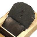 ■播州三木 伝統工芸士 山口房一鉋 「鍛炎」 寸八 70ミリ 白樫 半包台 高炭素合金鋼 大工道具 かんな