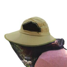 ■虫よけネット付き帽子 NF-02K ネットハット 安心帽 蚊 ハエ ハチ ゴミ ホコリ対策 メッシュ 防塵 防虫
