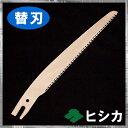 ■【替刃】 ヒシカ工業 本職用 替刃式ミニ剪定鋸150mm キウイ ぶどう