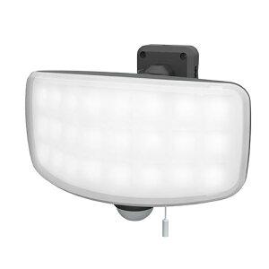 ■ライテックス LED-AC1027 27Wワイドフリーアーム式LEDセンサーライト コンセント式 2200ルーメン RITEX