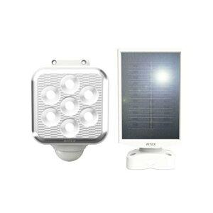 ■ライテックス S-110L ソーラー式センサーライト LED5W×1灯 フリーアーム式 明るさ450ルーメン 防犯 投光器