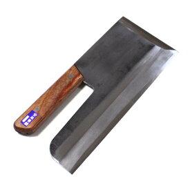 ■島谷 鍛造 麺切包丁 強化木柄 安来鋼青鋼 330mm 本職用 麺道具 そば打ち 蕎麦