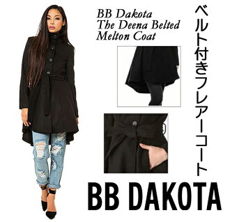 h-maruhan | Rakuten Global Market: Belted black coat of the BB ...