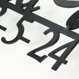 【オプション品】ライン下番地追加オプション(アルミ・ステンレスレーザーカット・銅表札用)【GHO表札】