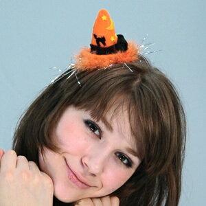 ウィッチハット・ヘアークリップ (Witch Hat Hair Clip) [ハロウィン衣装 ハロウィーン コスチューム 仮装 ヘアアクセサリー]【024103】