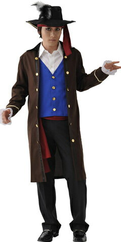 [海賊 コスプレ] MENコス(パイレーツ)  【大人 海賊衣装・海賊 コスプレ・ハロウィン・衣装】【A-0237_827993】