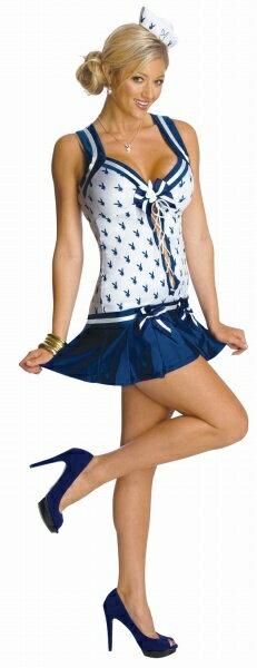プレイボーイ・セーラー レディース (Playboy Sailor) [セーラー コスプレ ハロウィン衣装 大人 女性衣装]【990559】