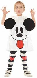 [ミッキー コスプレ] ゴーストミッキースカート(子供用) [ミッキーマウス おばけ ハロウィン コスチューム 衣装 ディズニー]【_956443】