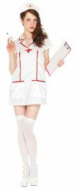 [ナース コスプレ] ルービーズナース(大人女性用) [ナース コスチューム レディース 看護婦 白衣の天使 ハロウィン 衣装 仮装]【_957259】_HB