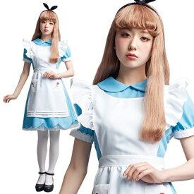 [LLL amoちゃん アリス] ローズガーデンガール(Rose Garden Girl) [Lunatic Lemony Lollipop AMO 不思議の国のアリス コスプレ アリスインワンダーランド ハロウィン 女性 コスチューム 衣装 レディース]【867593】