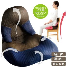 骨盤矯正 椅子 オフィス[勝野式 美姿勢習慣コンパクト]座った瞬間背筋がピン!椅子と背中のフィットが正しい姿勢に導きます。美しい姿勢 座椅子 骨盤 座椅子 腰痛 座椅子 腰痛 座椅子 姿勢 座椅子 送料無料 猫背 クッション 座椅子【送料無料】