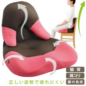 座椅子 コンパクト[勝野式 美姿勢習慣コンパクト]座った瞬間背筋がピン!椅子と背中のフィットが正しい姿勢に導きます。美しい姿勢 座椅子 骨盤 座椅子 腰痛 座椅子 腰痛 座椅子 姿勢 座椅子 送料無料 猫背 クッション 座椅子【送料無料】
