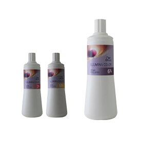 ウエラ プロフェッショナル イルミナ クリームデベロッパー 1000ml 2剤|カラー剤