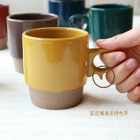 【波佐見焼】【HASAMI】【長崎】【藍染窯】【スタッキングマグカップ】【日本製】【保存】【食器】stacks-スタックス-