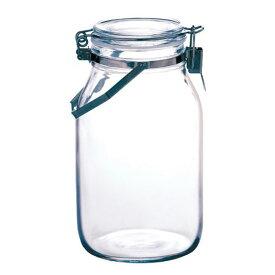 星硝 セラーメイト 手付きステンレス密封瓶 2L 保存瓶 粉末 乾物 保存容器 ジャム 調味料 密封びん 密封ビン