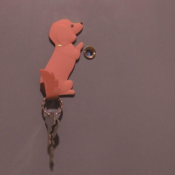 東洋ケース マグネットフック ミニチュアダックスフンド MH-AN-04 かわいい 犬 Animal Tail しっぽ 磁石[税込5400円以上送料無料!クーポン配布中]