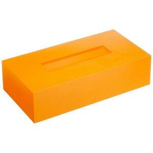 橋本達之助工芸 ティッシュBOXカラー オレンジ シンプル リビング かわいい ティッシュボックスカバー おしゃれ