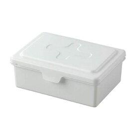 除菌シートケース マスクケース イノマタ化学 ウェットシートボックスL ホワイト 詰替えケース ティッシュケース マスク収納 おしりふきシート 除菌シート入れ
