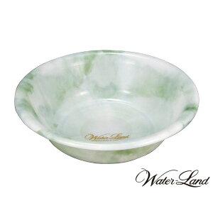 ◎シンカテック ウォーターランド 洗面器ED グリーン NS-nG 日本製 湯桶 ウォッシュボウル 洗面桶 風呂桶