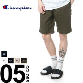 チャンピオン ハーフパンツ ショートパンツ Champion 綿100% ワンポイントロゴ ウエストコード 流行 メンズファッション ブランド 原宿ゼンモール
