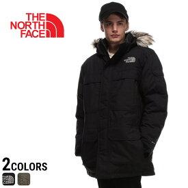 ノースフェイス ダウン THE NORTH FACE ブルゾン 胸ロゴ フルジップ DRYVENT ダウンブルゾン McMurdo Parka IIIメンズ カジュアル 男性 アウター フェイクファー フード 秋冬 NF0A33RF