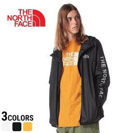 ノースフェイス ブルゾン THE NORTH FACE ナイロンブルゾン アームロゴ フルジップ ブルゾン Novelty Cyclone 2.0 WindWall パッカブルメンズ カジュアル 男性 ファッション トップス アウター アウトドア 薄手 パーカー NF0A3T2R
