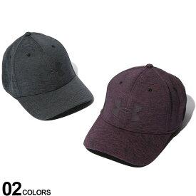 大きいサイズ メンズ UNDER ARMOUR (アンダーアーマー) heatgear ロゴ 6パネル キャップ カジュアル 小物 帽子 スポーツ アウトドア シンプル 1305041