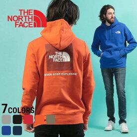 ノースフェイス パーカー THE NORTH FACE プルオーバー 裏起毛 バックロゴ バックBOXロゴ パーカーメンズ カジュアル 男性 ファッション トップス フード かぶり バックプリントプリント 暖かい 秋冬 NF0A3FRE